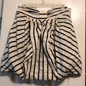 Anthro Striped Skirt